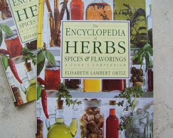 Vintage Encyclopedia of Herbs Spices and Flavorings Cooks Compendium Aromatics Vinegars History of Herbs Color Photographs 1993