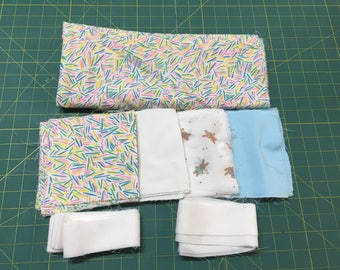 Baby Quilt or Crib Quilt Kit