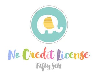 No Credit Commercial License for Up to 50 Sets.