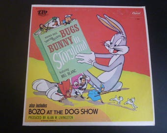 Bugs Bunny In Storyland Vinyl Record LP L6988 Capital Records 1975