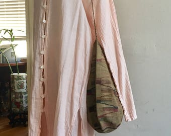 Vintage Soft Cotton Tunic Dress and Pants