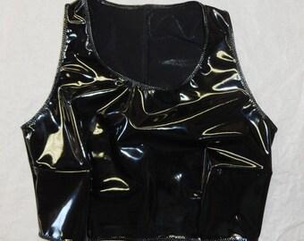 XS PVC Crop top