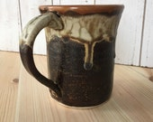 Coffee Mug, Brown Ceramic Mug, Pottery Mug, Handmade Pottery Mug, Tea Cup, Handmade Ceramic Mug, Pottery Gifts, Mothers Day Mug