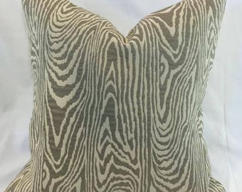 Kravet Thom Falicia Faux Bois-Pillow Cover