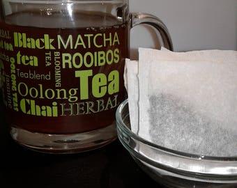 10 Organic Hibiscus Flower Tea Bags