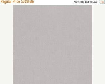 SALE Ash, Kona Cotton,  Robert Kaufman Fabric, 1/2 Yard
