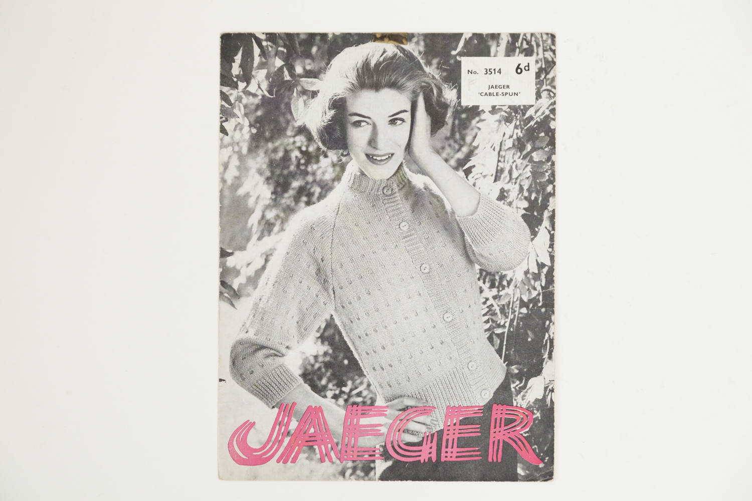 Jaeger ladies cardigan vintage knitting pattern 1950s knitting 1401 bankloansurffo Images