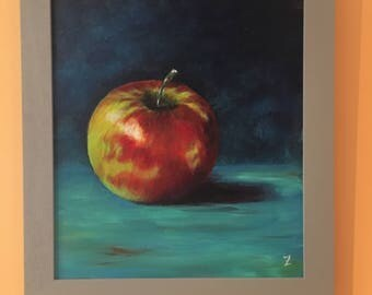 "Original painting ""the Apple"""