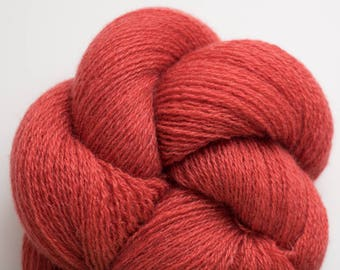 Cinnabar Recycled Cashmere Lace Weight Yarn, CSH00318
