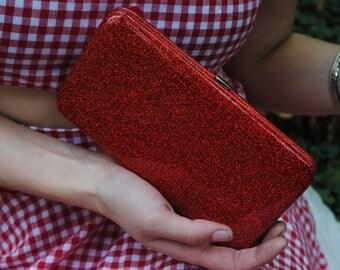 Glitter wallet! -Red