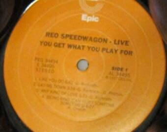 REO Speedwagon - UPCYCLE Vinyl Record Bowl