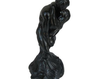 Black Abstract Nude Figures Vintage Entwined Nude Couple Decorative Accents Home Decor Statues Over-sized