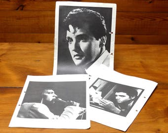 "Vintage   Photographs ""Elvis AAron Presley- King of Rock and Roll"" Circa 1950/60's"