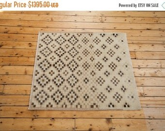 10% OFF RUGS DISCOUNTED 4x4 Distressed Sparta Square Rug