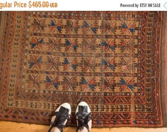 10% OFF RUGS 3x4 Antique Belouch Rug
