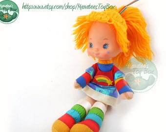 Vintage Rainbow Brite Doll: A Classic 1980s Toy by Mattel