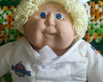 Vintage Cabbage Patch Astronaut Doll