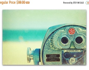 beach photography print // beach art print // santa cruz art print  - Quarters Only, 16x24 fine art photograph print