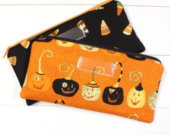 Halloween Cash Envelope - Cash Budget System - 1 Cash Budget Envelope with Zipper Closure - Ready to Ship