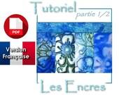 Tutoriel PDF en français : 5 recettes pour les encres sur la pâte polymère