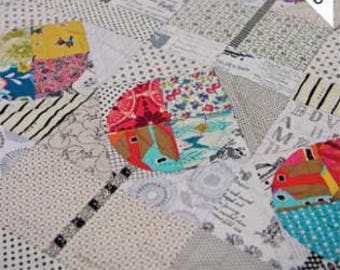 The Avenue quilt pattern with Acrylic Templates from Louise Papas for jen Kingwell