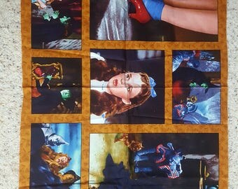 Wizard of Oz panel and fabric