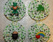 St Patrick's Day Ornaments - set of 4