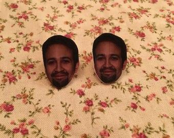 Lin Manuel Miranda Earrings