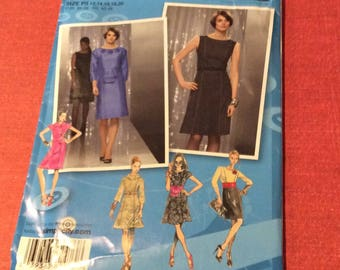 Simplicity Runway unused sewing pattern design your dress kit size 12 to 20
