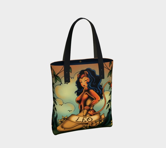 Leo - Tattoo Premium Tote Bag