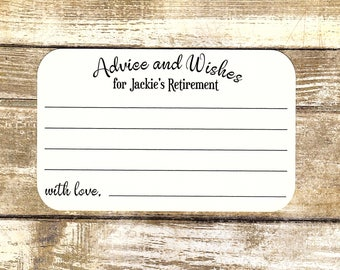 RETIREMENT Advice And WISHES