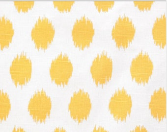 Yellow Ikat Window Curtains Treatments Curtain Panels Pair