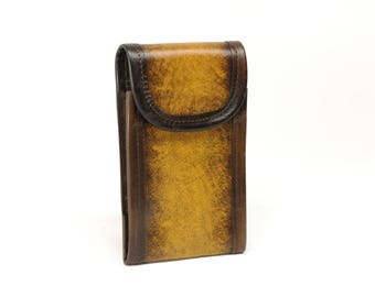 Leather Vertical Cell Phone Case
