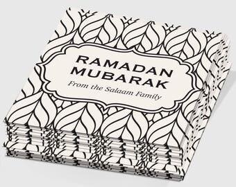 Set of 50 Custom Ramadan Mubarak Gift Tags