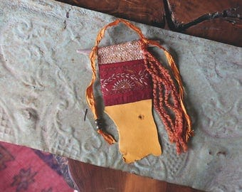 RESERVED - Custom Word of the Year Gypsy Altar Prayer Flag