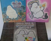 Vintage Halloween Book Bundle - Gus the Ghost - 3 Books - 1960s-70s