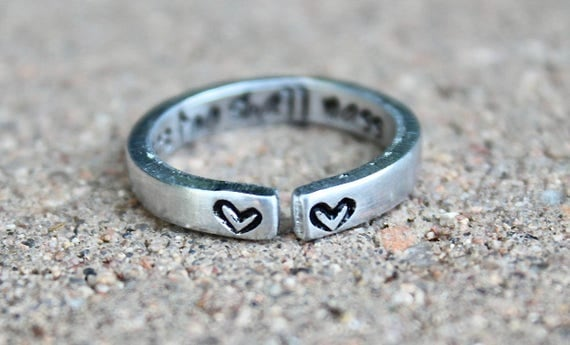 This too shall pass Mantra Ring