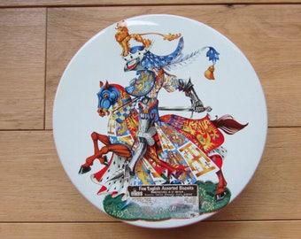 Elkes Great Britain Medieval Biscuit Tin