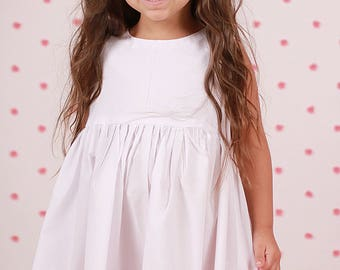 Versatile Little White Dress - a staple for all young ladies