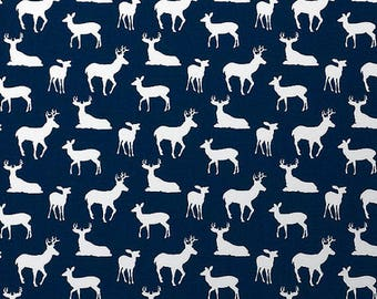 Pillow Cover - Deer - Navy or Gray