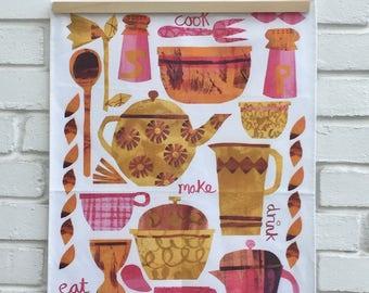 Make and Eat Tea Towel
