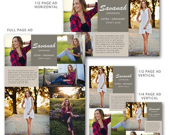 senior yearbook ads photoshop templates hot shots high. Black Bedroom Furniture Sets. Home Design Ideas