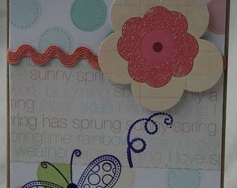 Spring Has Sprung Card