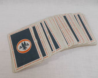 American Airlines Astro Jets Playing Cards