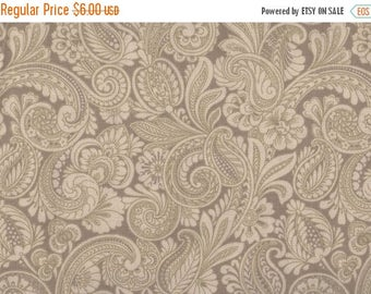 ON SALE In Flight Paisleys by American Greetings, Paisley Fabric, Floral Fabric, 1 Yard Fabric, 00493