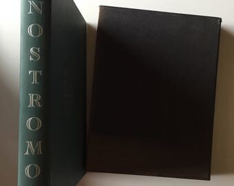 Nostromo by Joseph Conrad-Heritage Press Edition in Slip Case (1961, Hardcover)