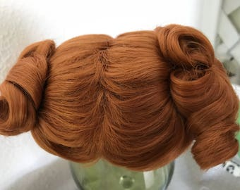 Doll Wig, 11-12, carrot
