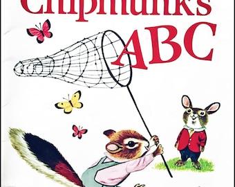 Richard Scarry's Chipmunk ABCs • Children's Book