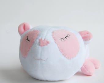 Baby girl gift, baby shower gift, newborn panda, stuffed animal, plush toy, plush panda bear, cuddle toy boy and girl