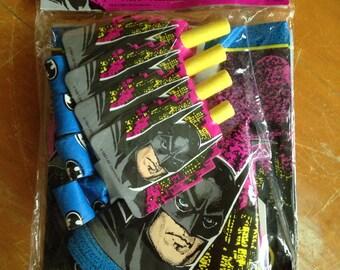 vintage 1991 batman returns party favors bags hats blowouts nos deadstock